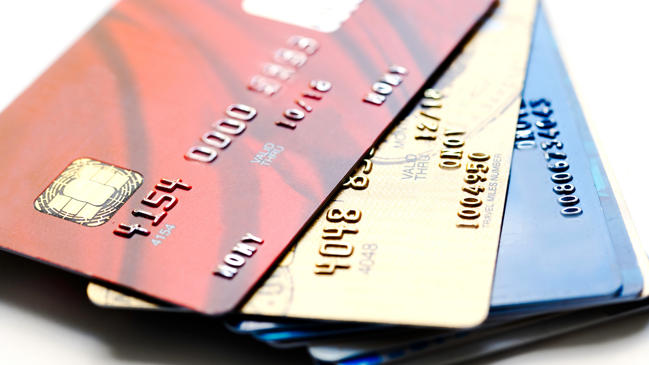 Avoid These 5 Credit Card Mistakes